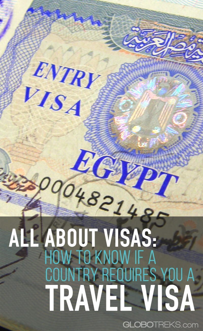 All About Visas: How to Know if a Country Requires You a Travel Visa