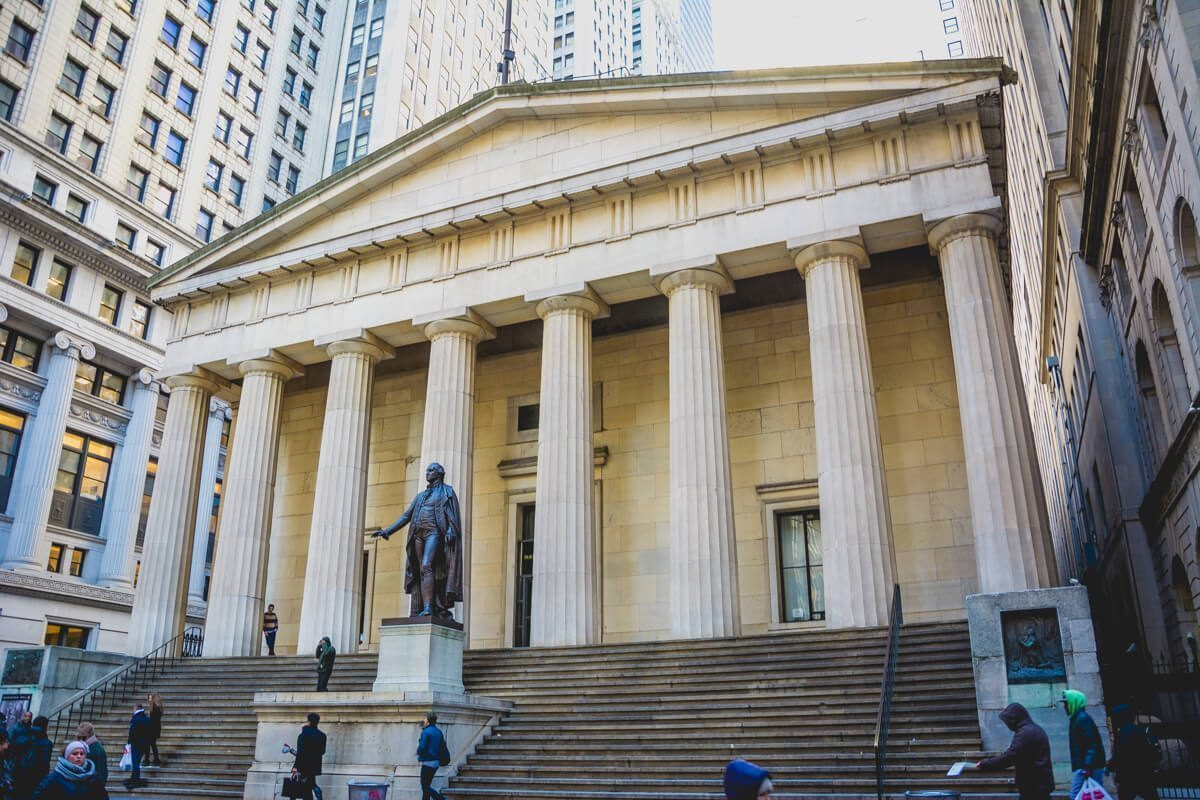Federal Hall in New York City