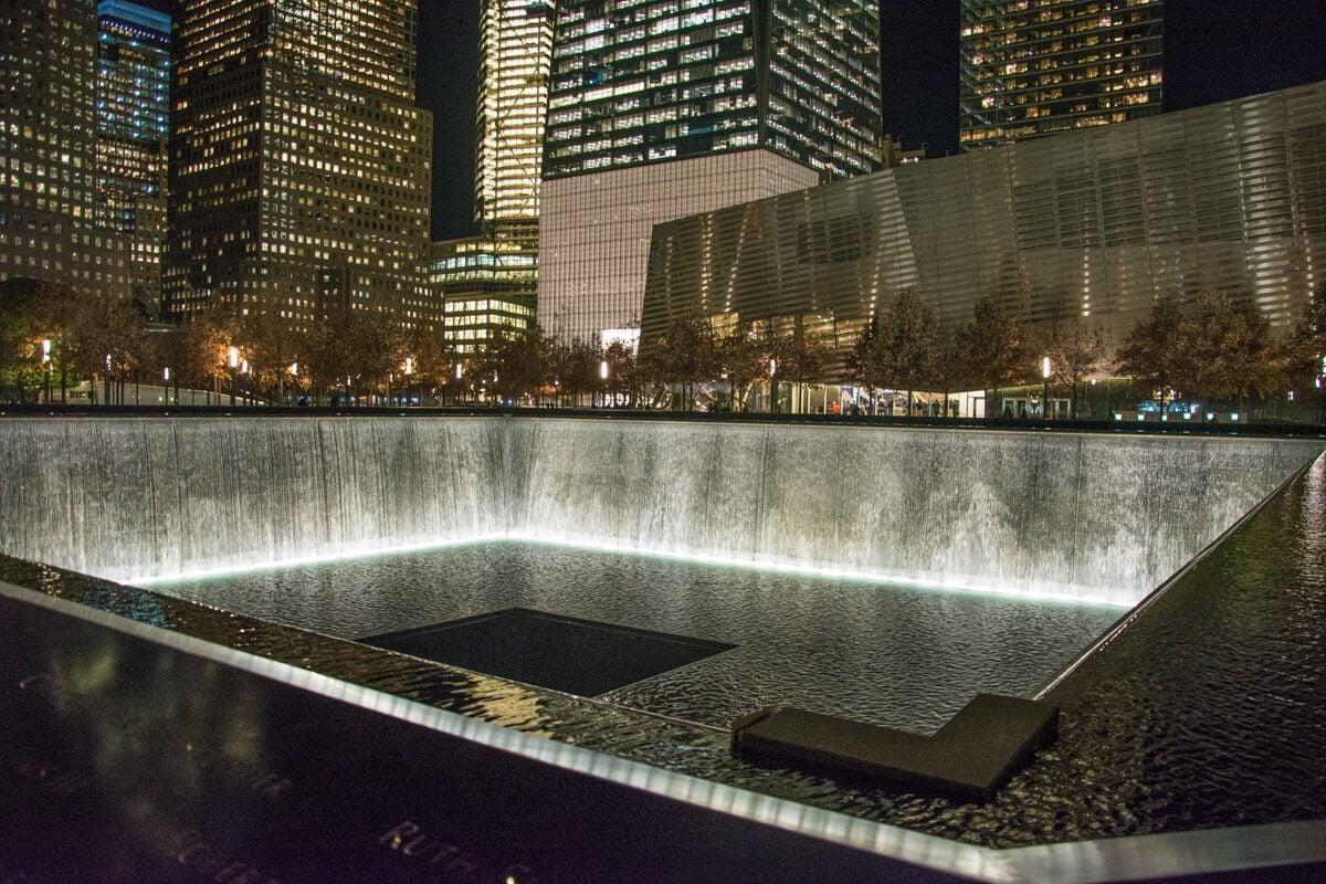 The 9/11 Memorial in New York City
