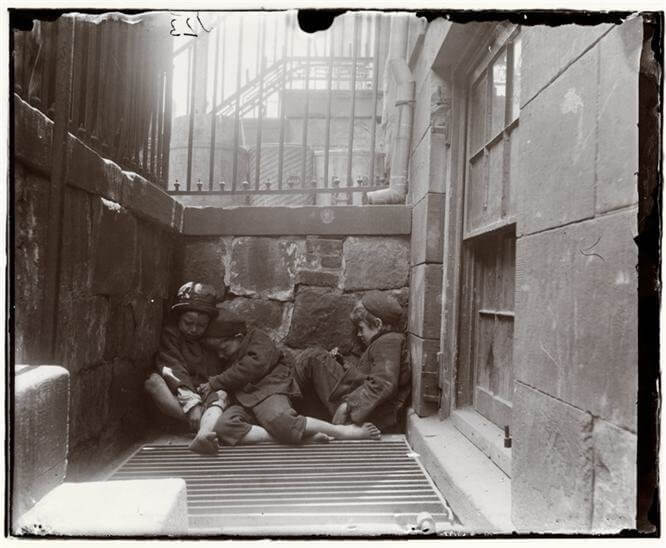 Jacob Riis Photography in New York City's Lower East Side