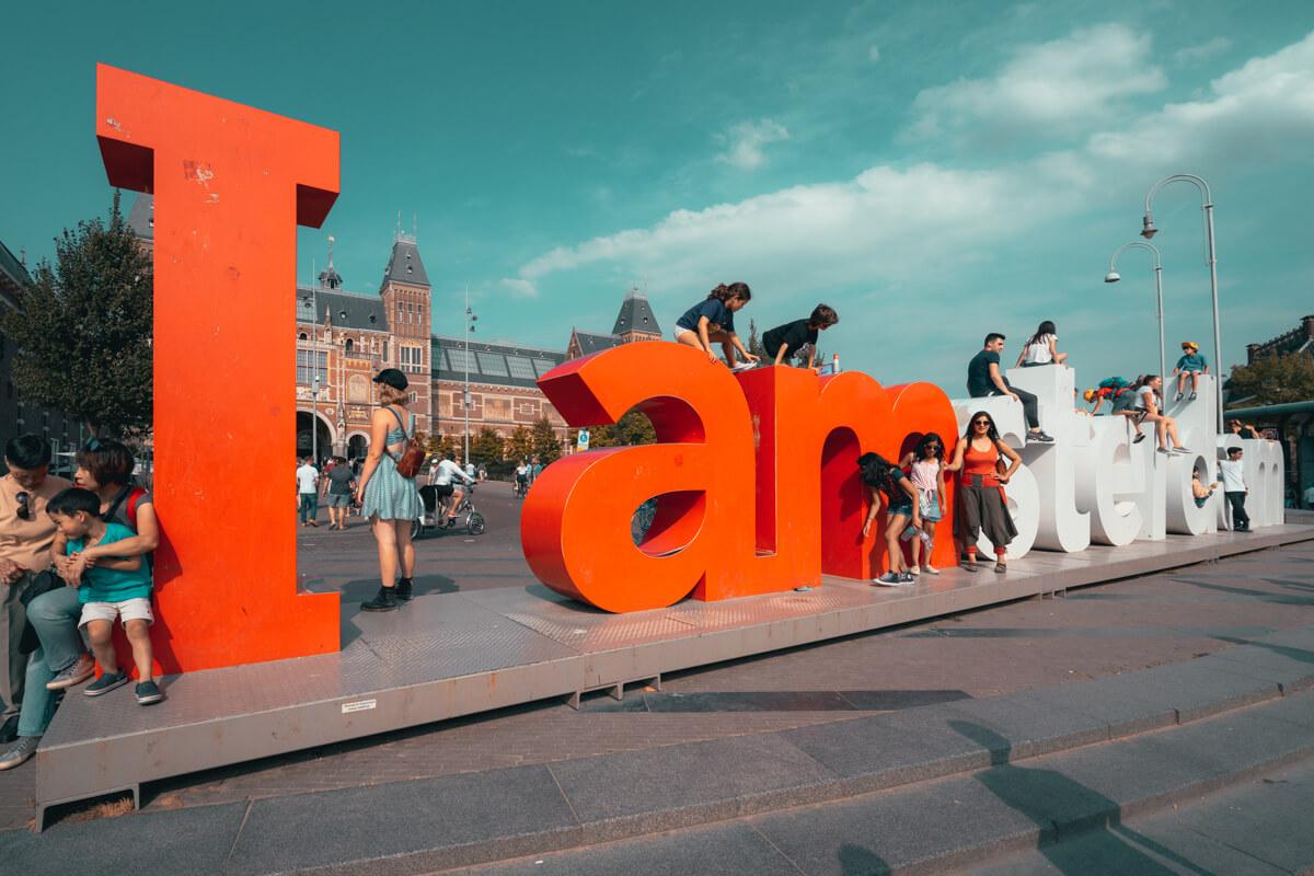 I Amsterdam Sign.