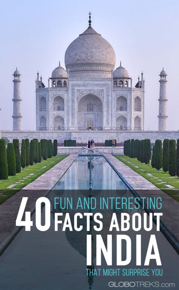 40 Fun and Interesting Facts about India That Might Surprise You