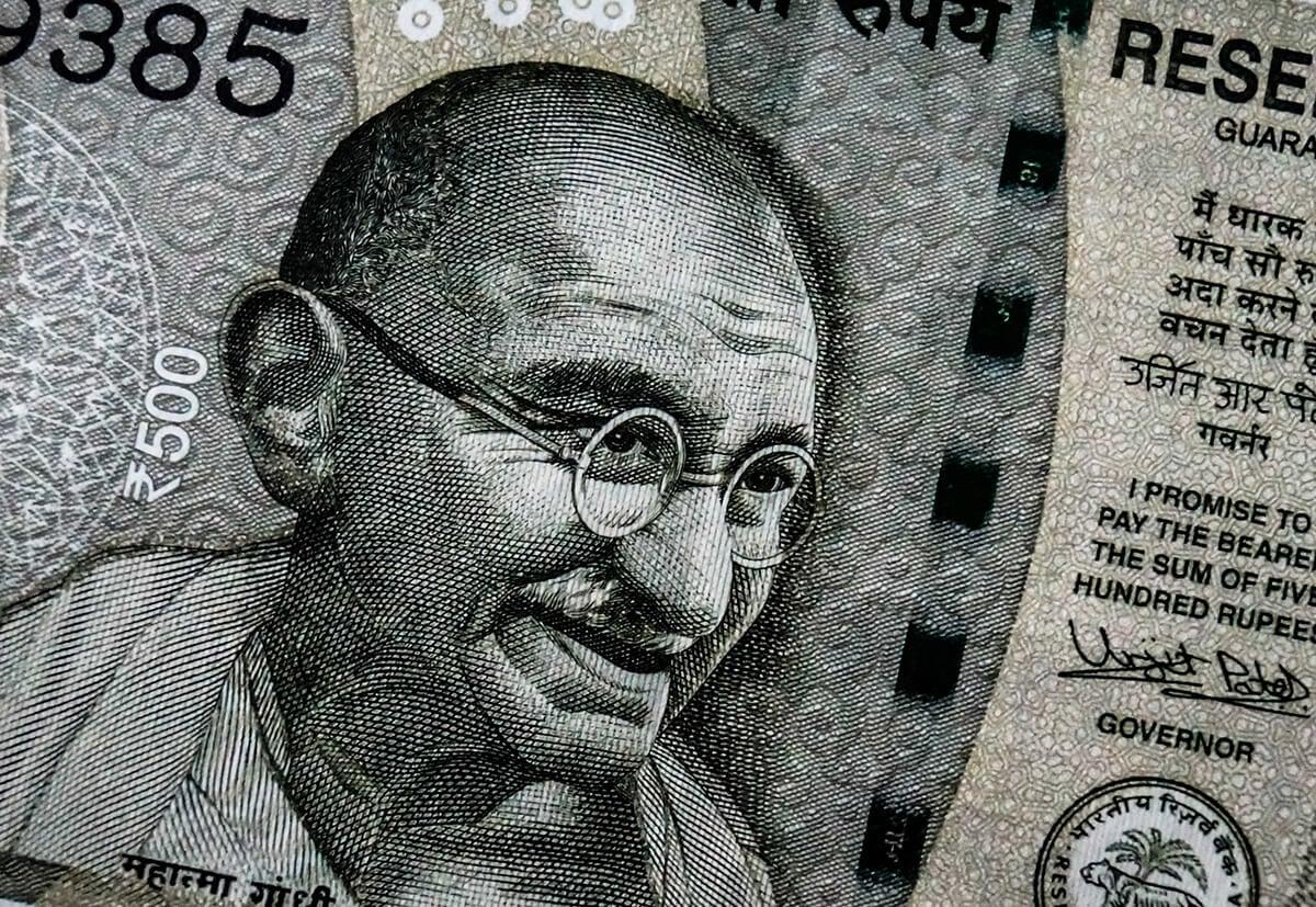 Gandhi in India's Rupee