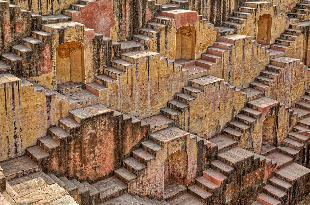 Step Well in India
