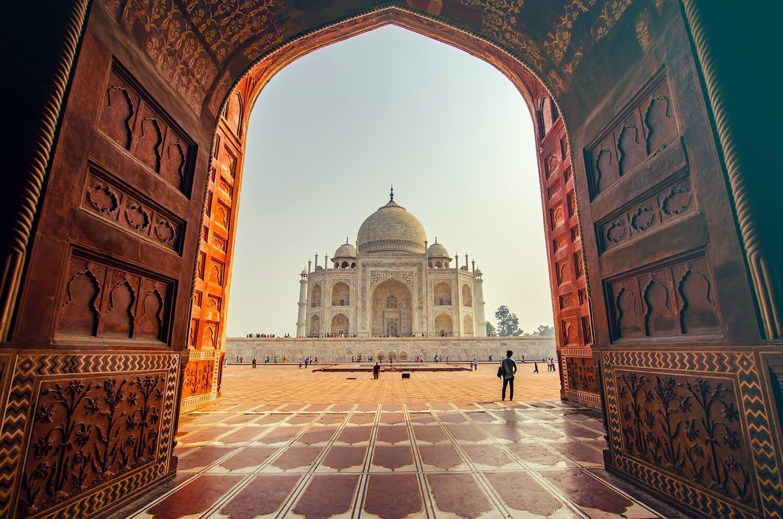 The Taj Mahal at Sunrise