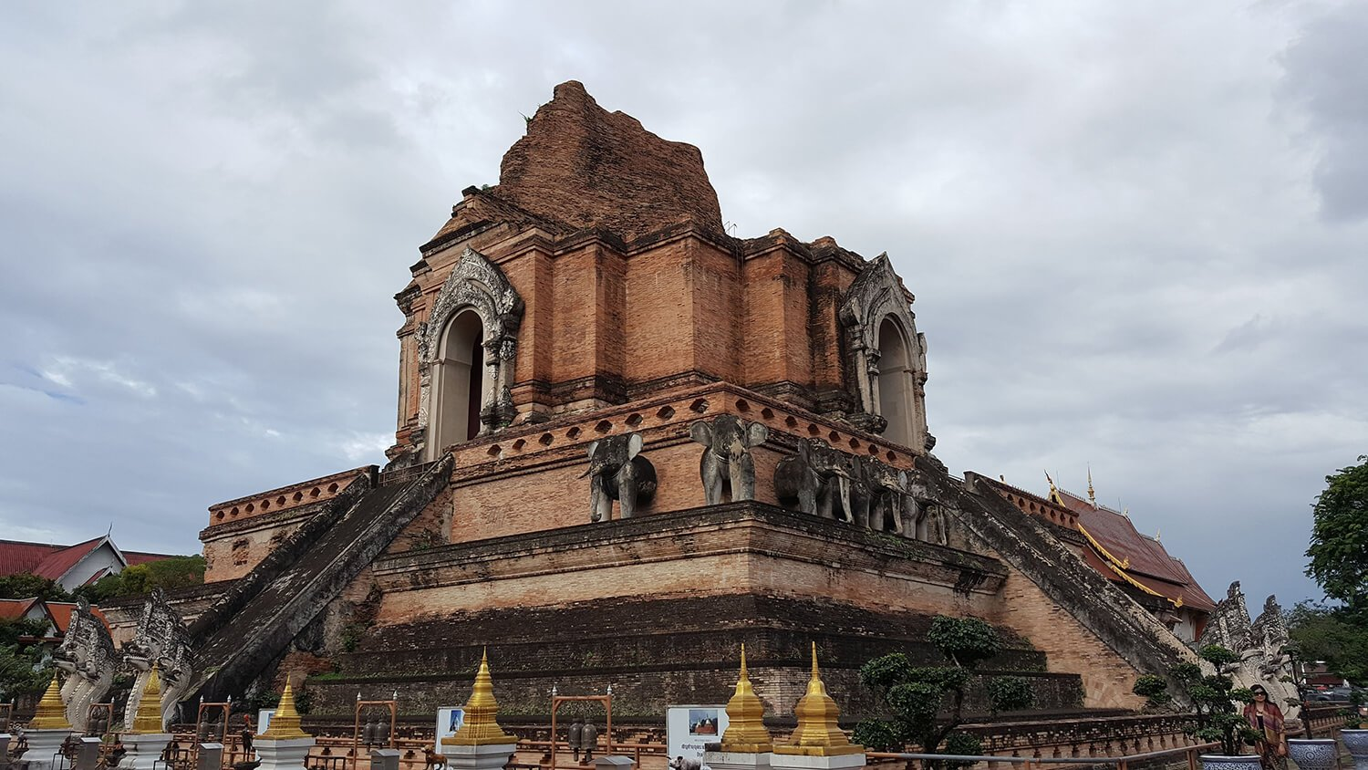 Temple ruins in Chiang Mai, Thailand