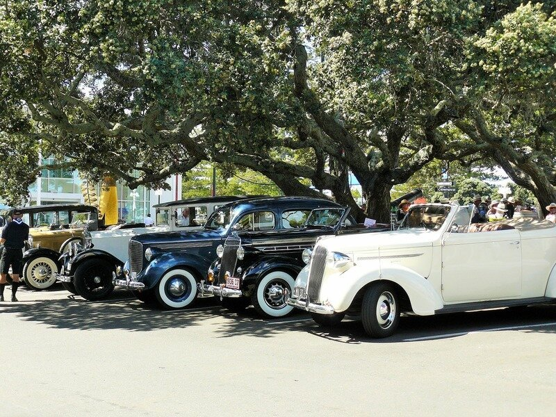 Classic Cars in Napier, NZ