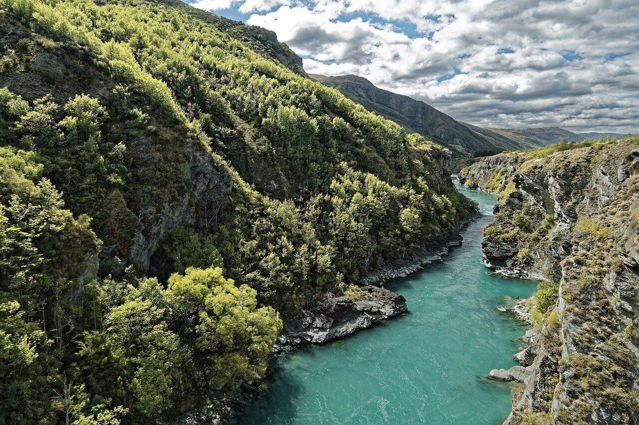 Kawarau rafting In New Zealand