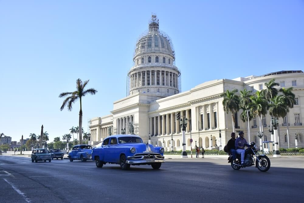 El Capitolio Building in Havana