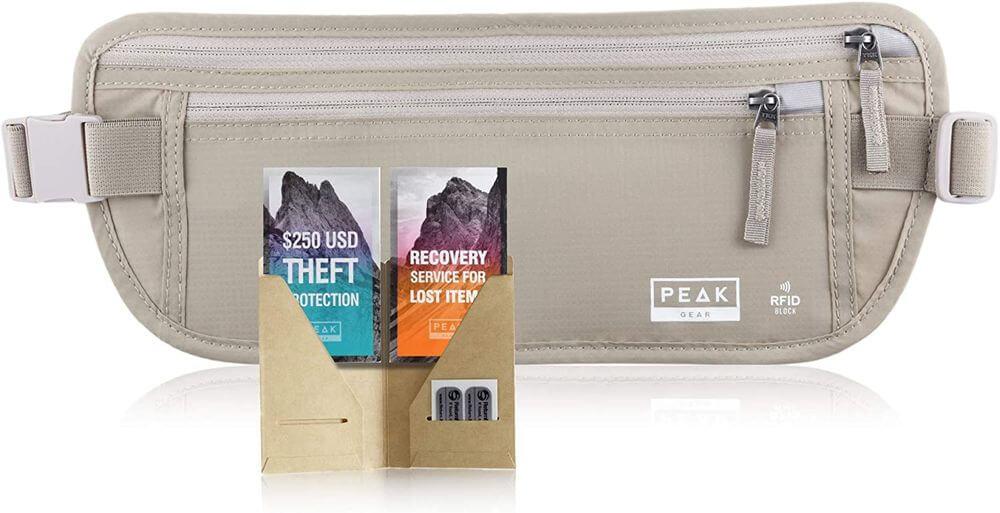 Peak Gear Travel Money Belt Review