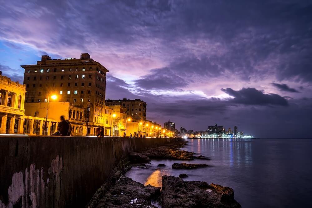 Boardwalk in Havana