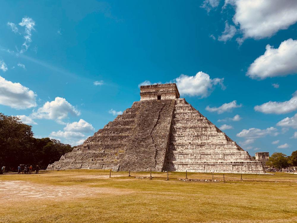 Chichen Itza Mayan Ruin in Yucatan