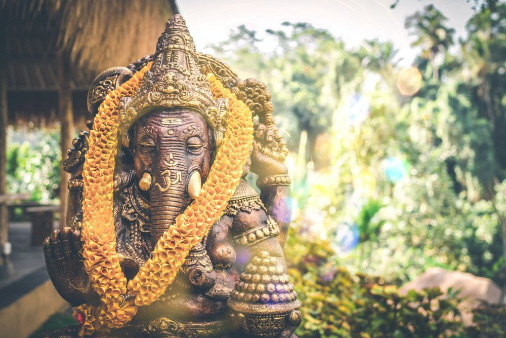elephant statue in India