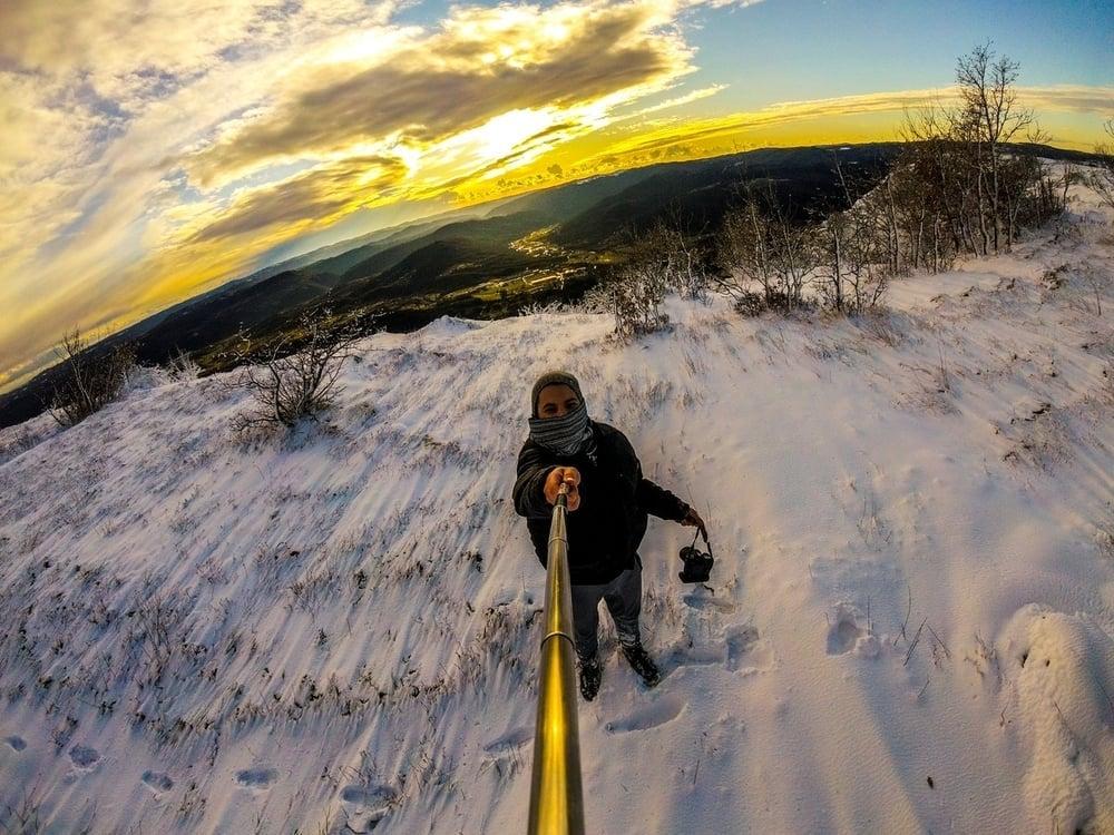 extension selfie stick gopro