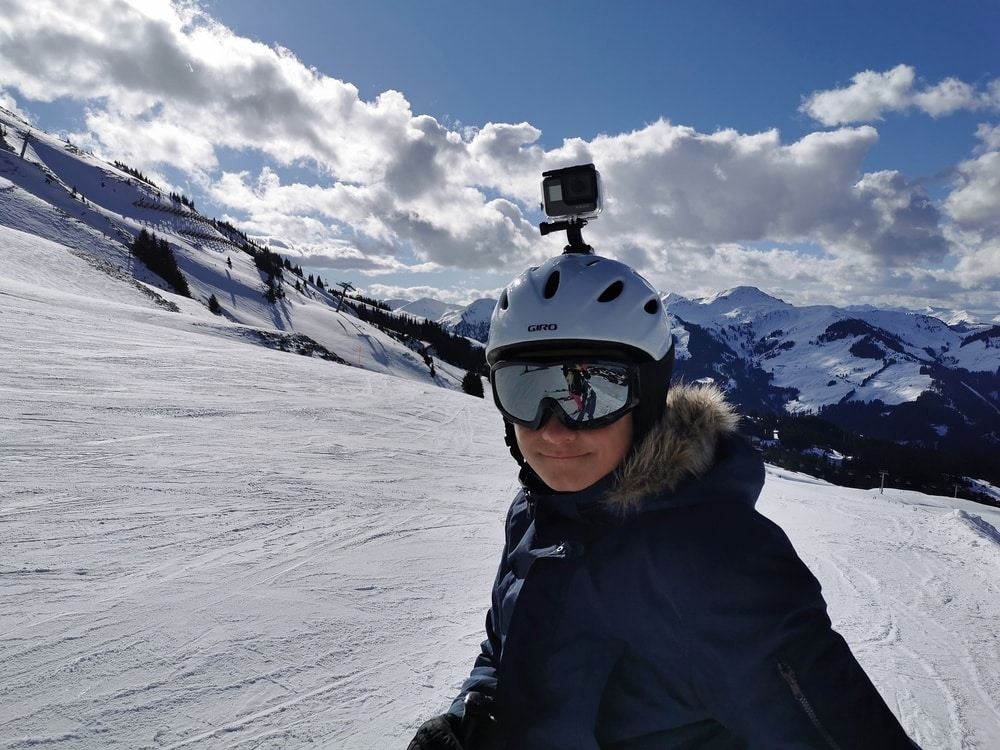 go pro mounting accesories head mount on helmet