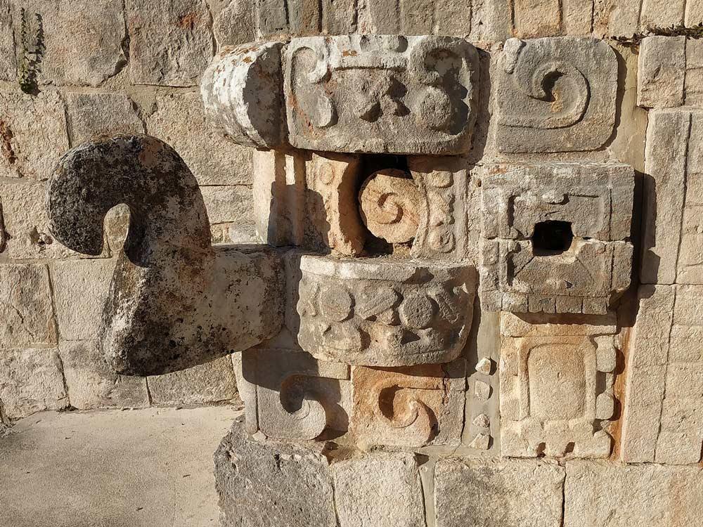 Uxmal Mayan Ruin in Yucatan, Mexico