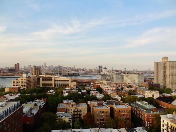 Brooklyn Skyline towards Manhattan