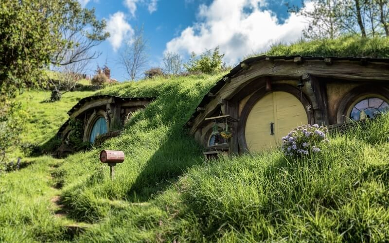 Hobbiton Set in New Zealand