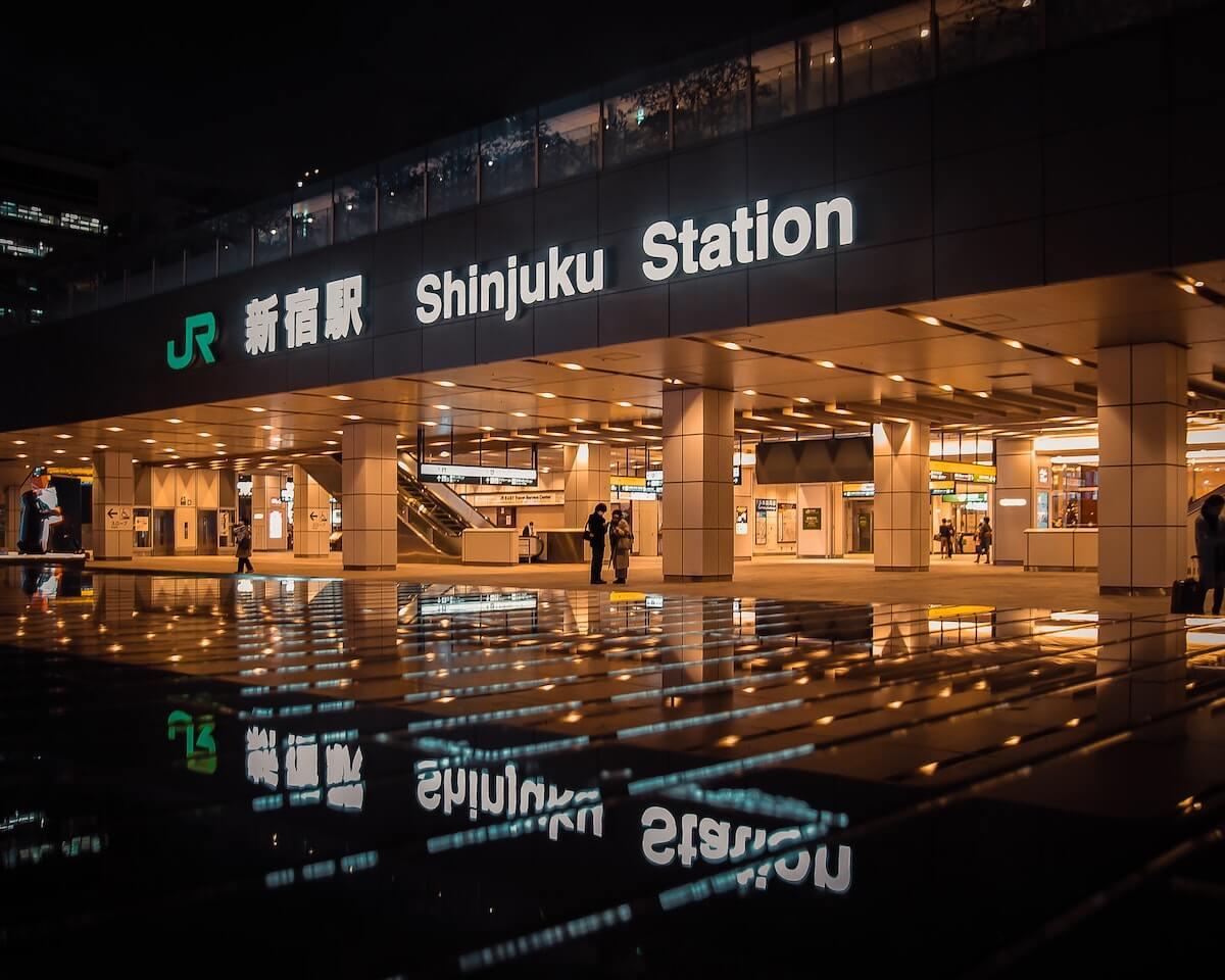 Shinjuku Station JR, Tokyo