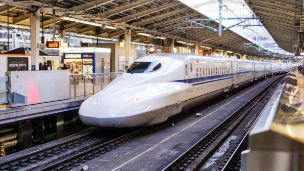 JR Shinkansen Train in Japan