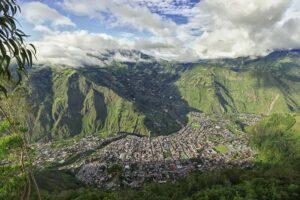 Green Mountains in Ecuador