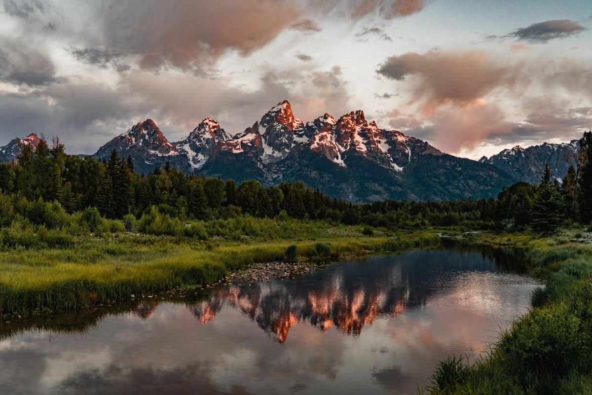 Teton Mountain Range, Wyoming